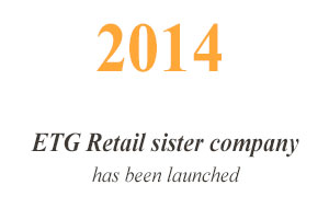 2014 ETG Retail sister company has been launched